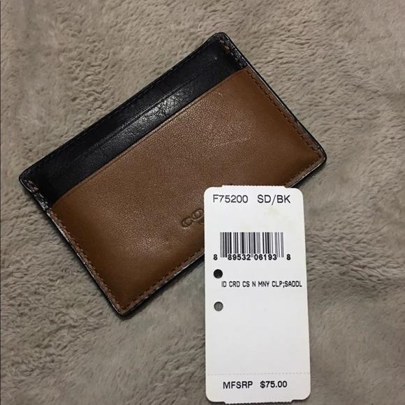 03267ee8e0fd7 Men s coach ID wallet